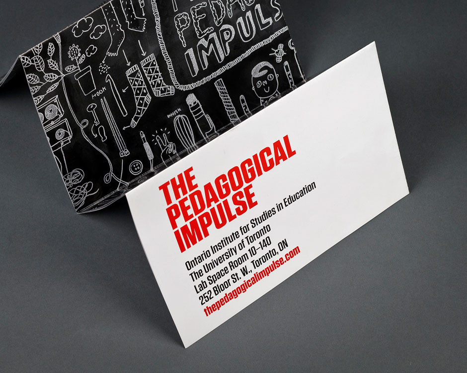 The Pedagogical Impulse promotional poster