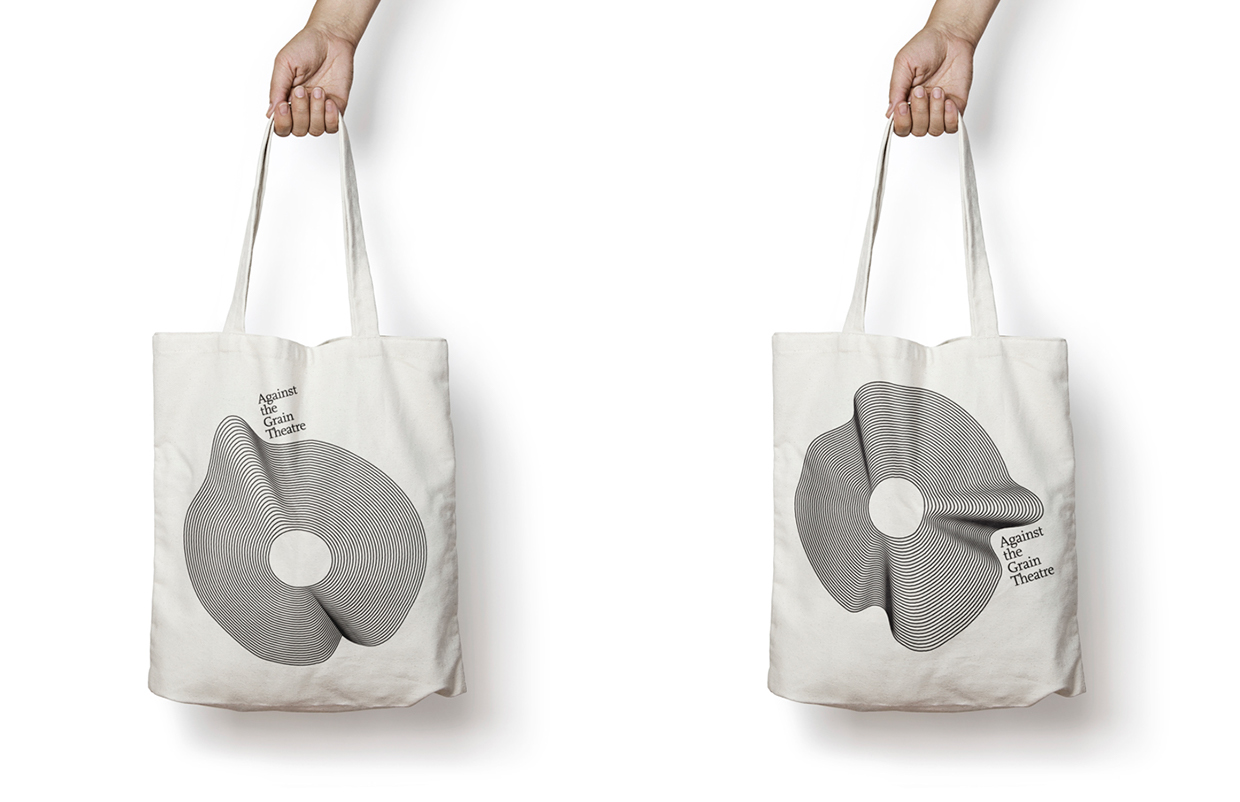 Against the Grain Theatre Tote Bags