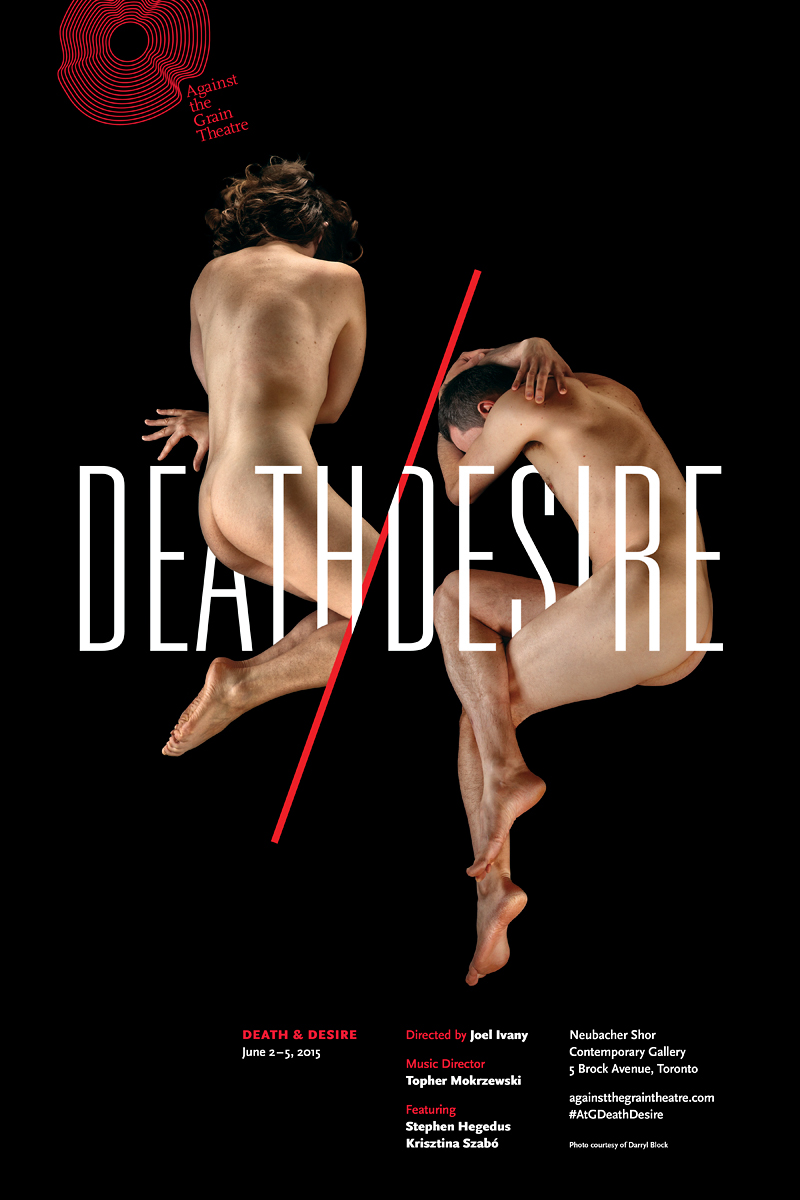 Against the Grain Theatre Death and Desire Poster