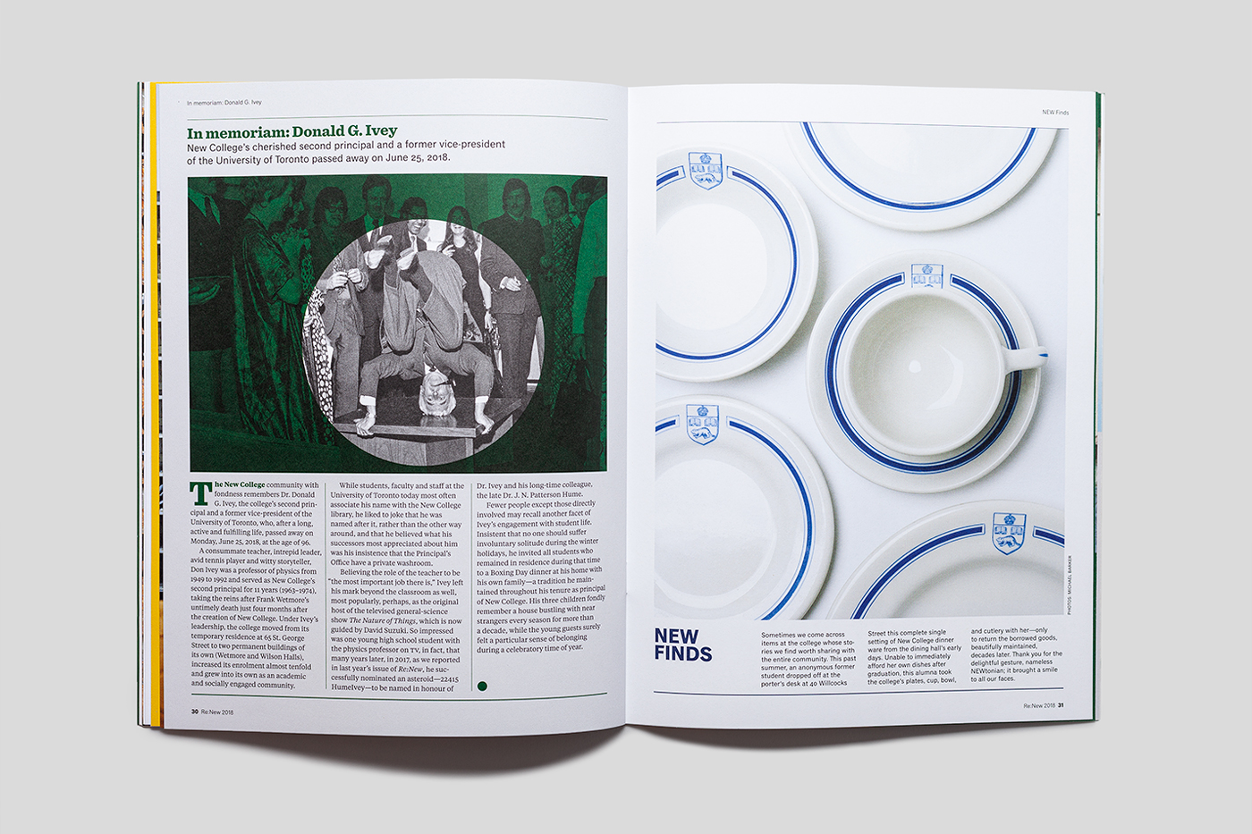 Re:New magazine spread