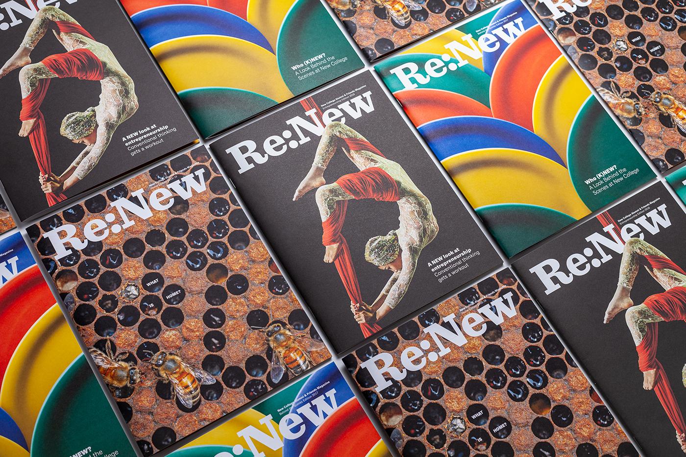 ReNew magazine covers