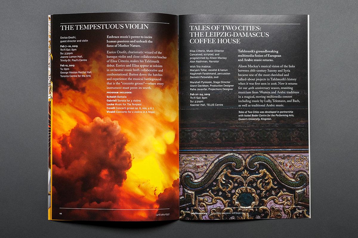 Tafelmusik 2018-19 Season Brochure