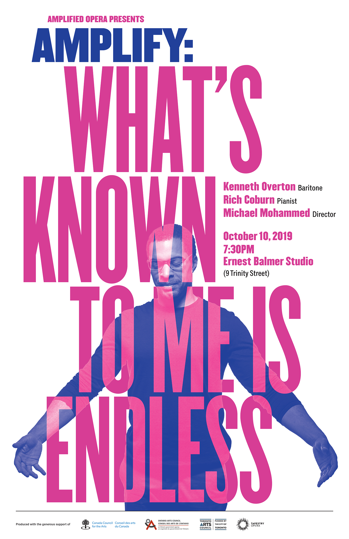 What's Known to Me is Endless poster