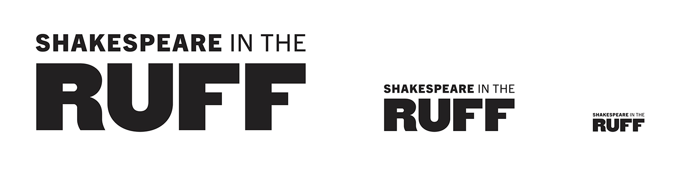 Shakespeare in the Ruff wordmark