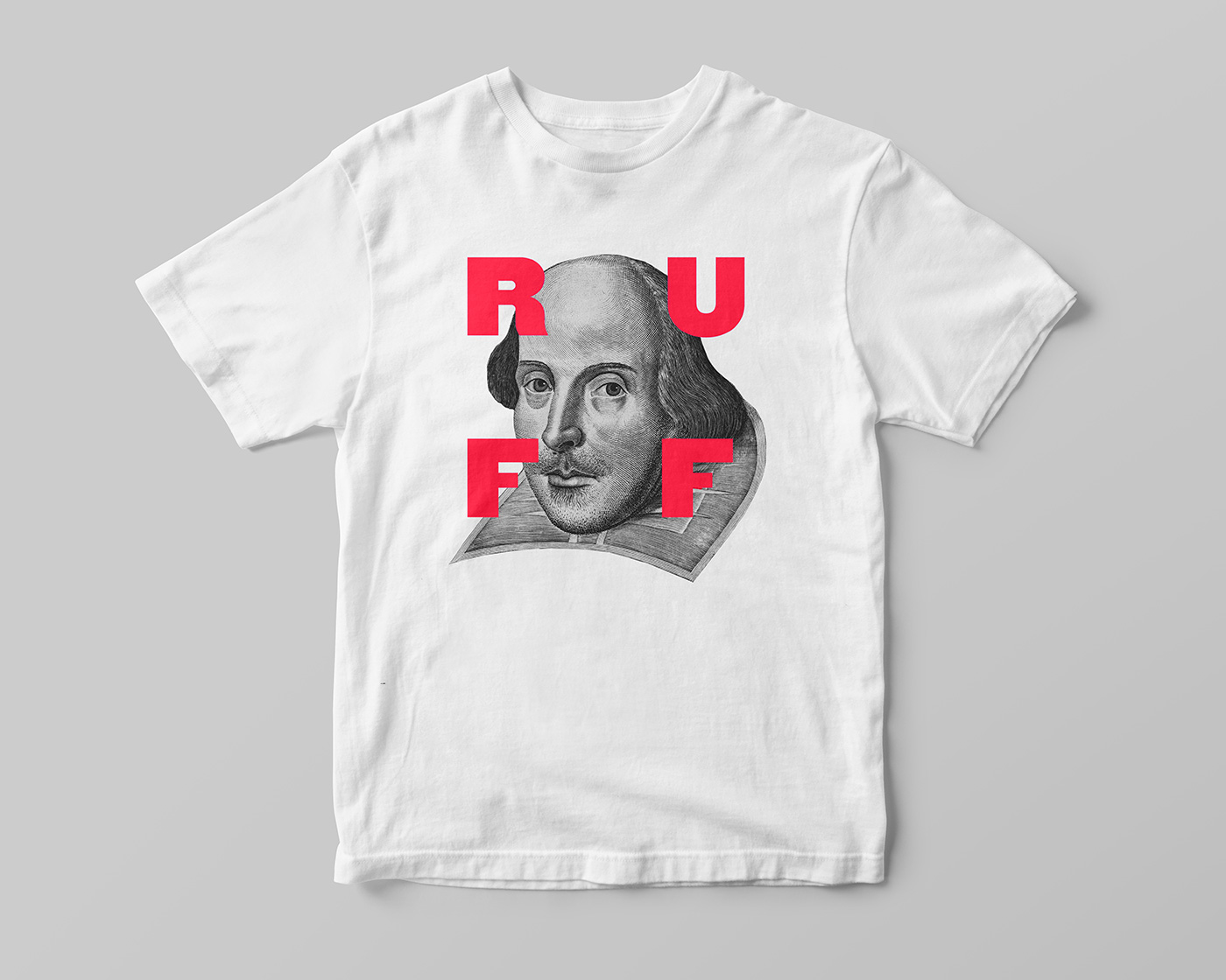 Shakespeare in the Ruff t-shirt