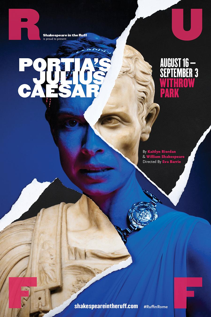 Portia's Julius Caesar poster