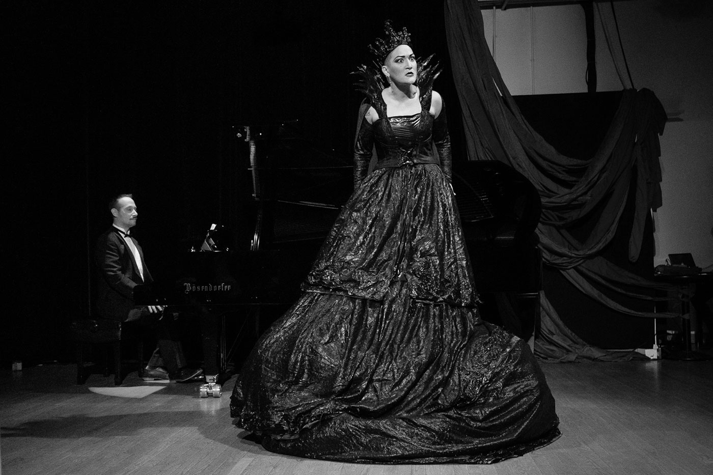 Opera singer Teiya Kasahara performs in Amplified Opera's debut concert series Amplify