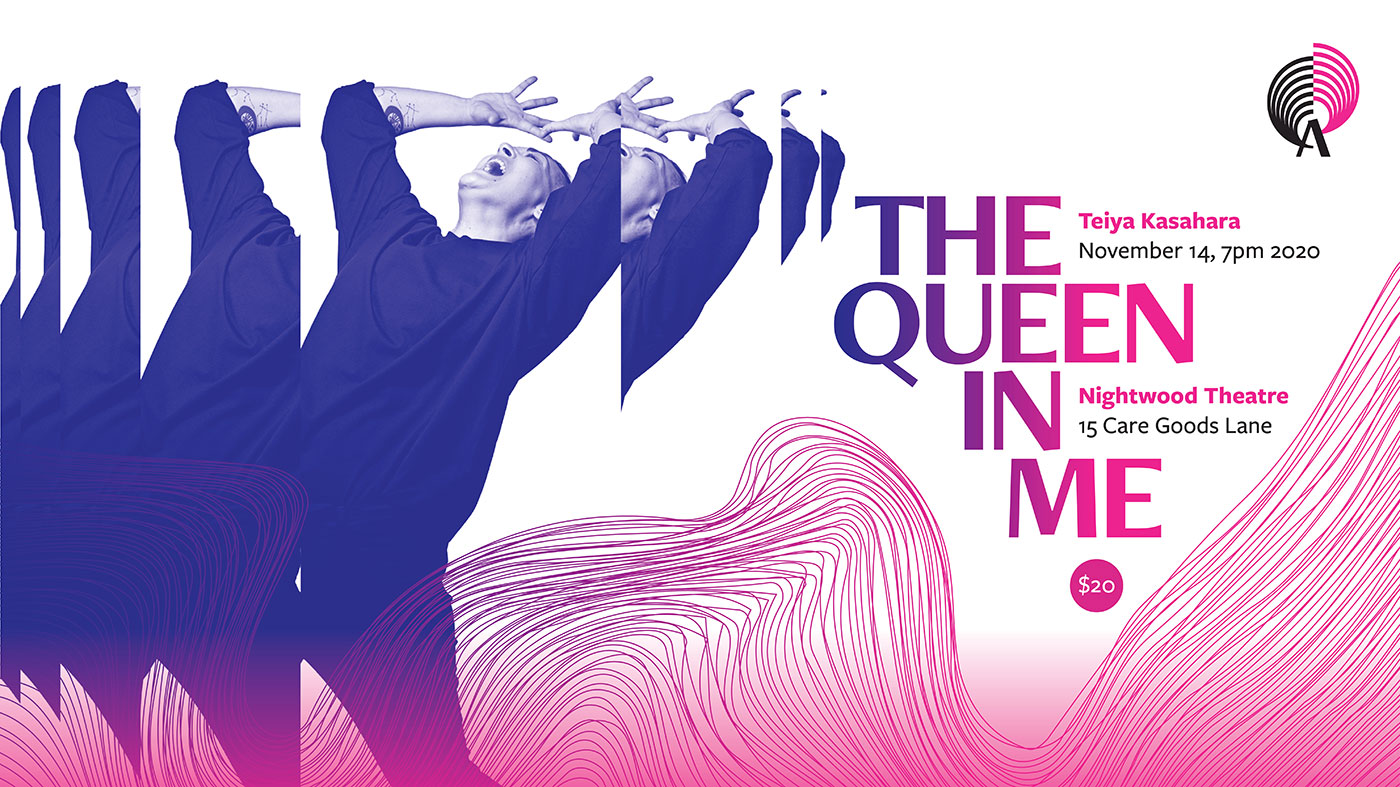 "Poster mockup for ""The Queen in Me"""