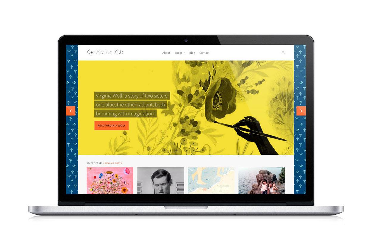 Kyo Maclear Kids Website