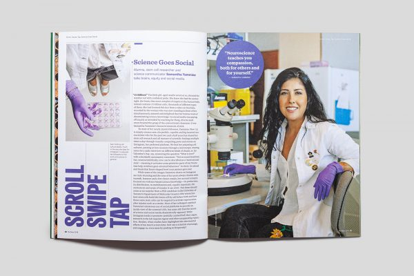ReNew Magazine: Scroll, Swipe, Tap article