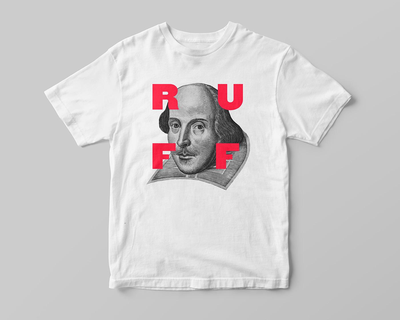 Shakespeare in the Ruff t-shirt